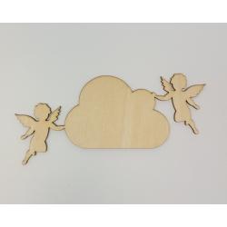 "Lentelė ""Angeliukai 2"" 17x8,4cm"