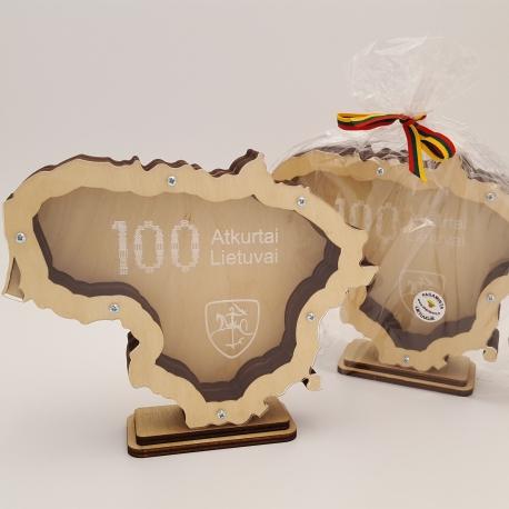 Taupyklė 100 Atkurtai Lietuvai
