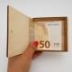 Medinė dėžutė pinigams dovanoti su veidrodine dekoracija