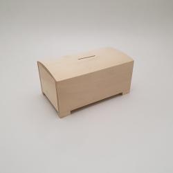 Medinė taupyklė 19,5x11,8x10 cm