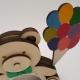 """Taupyklė """"Meškiukas su balionais"""" berniukui"""