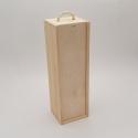 Medinės vyno dėžės
